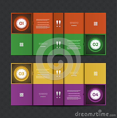 Vector Paper Progress background / product choice or version.