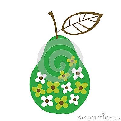 Vector pear design