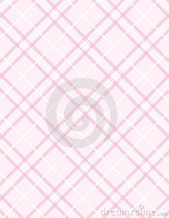 Vector Pink Plaid Background