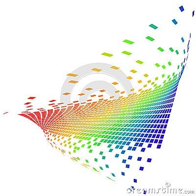 Vector pixels