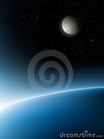 Free Vector Planets Royalty Free Stock Photography - 12411597