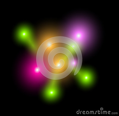 Vector plasma background. Laser elements.