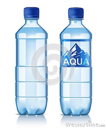 Free Vector Plastic Bottle Stock Image - 92295991