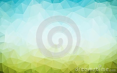 Vector Polygon Abstract modern Polygonal Geometric Triangle Background. Vector Illustration
