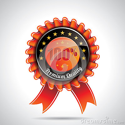 Vector  Premium Quality Labels Illustration with shiny styled design on a clear background. EPS 10.