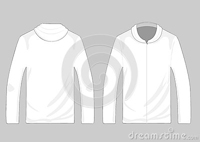 Vector pullover templates
