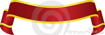 Vector Red Banner
