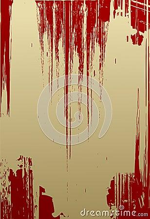 Vector red grunge texture