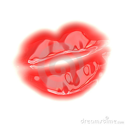 Vector Red Lips