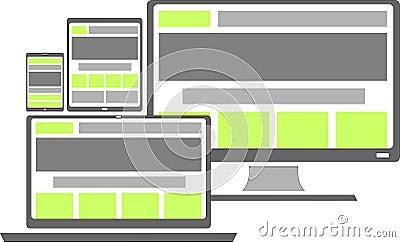 Vector - responsive web design