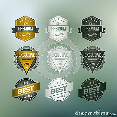 Retro Badge Collection