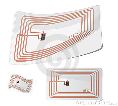 Free Vector RFID Stock Photography - 12248072