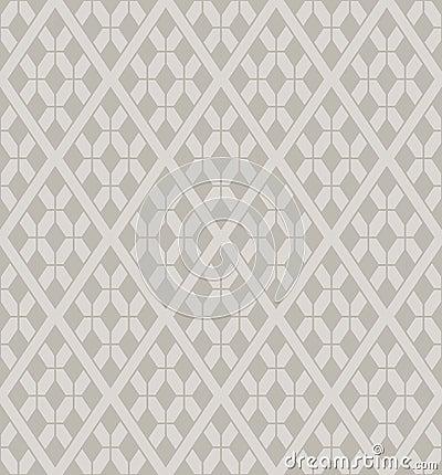 Free Vector Rhombuses Lattice Seamless Pattern Royalty Free Stock Image - 23953146