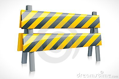 Vector Road Barrier