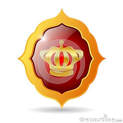 Vector royal emblem