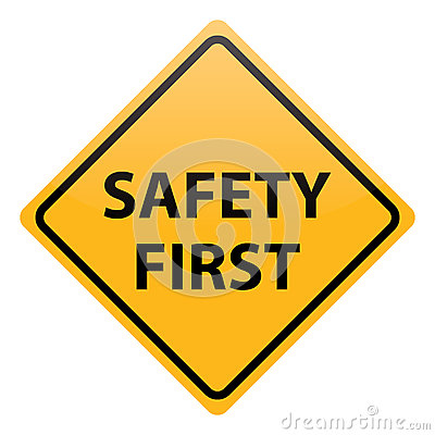 Vector Safety First Royalty Free Stock Photos - Image ...
