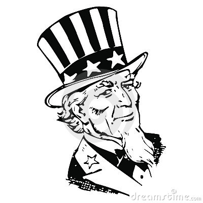 Vector Sam Uncle Royalty Free Stock Photo - Image: 9897475