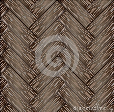 Vector seamless background a wooden parquet 4