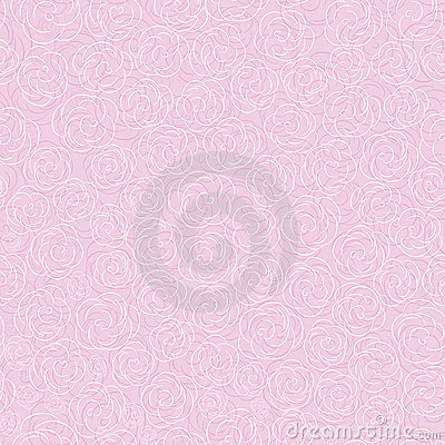 Vector seamless flower background pattern