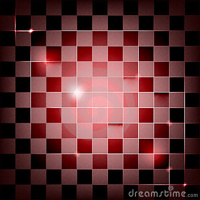 Vector seamless geometric background