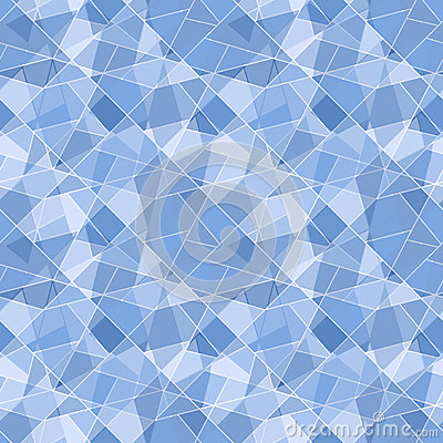 Vector seamless geometric brilliant pattern - abst