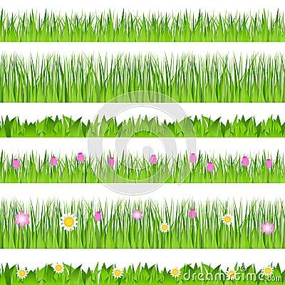 Vector Seamless Grass