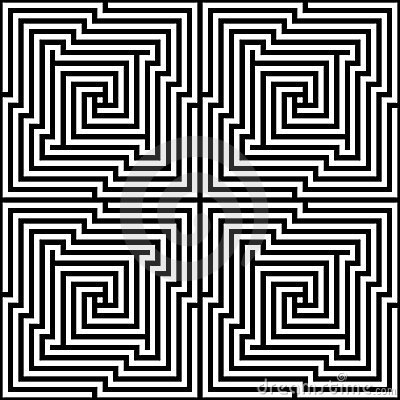 Vector Seamless Optical Maze