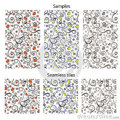 Vector seamless pattern design