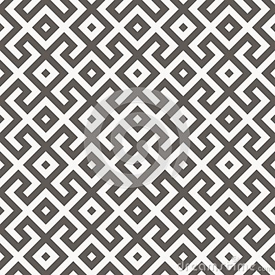Vector seamless pattern. Geometric texture. Vector Illustration