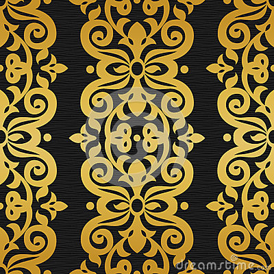 Free Vector Seamless Pattern In Victorian Style. Stock Photos - 49402793