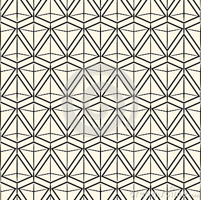 Free Vector Seamless Pattern Modern Stylish Texture. Repeating Geometric Tiles Stock Image - 53390261