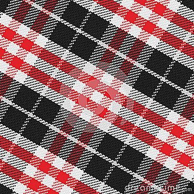 Vector seamless pattern Scottish tartan 3