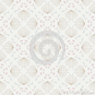 Sea Shells. Crochet Scarf Free Pattern for Kids & Women