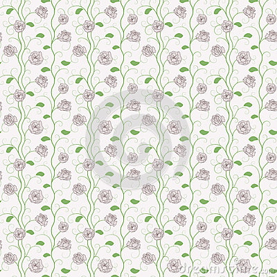 Floral Roses Pattern