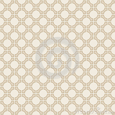 Vector seamless vintage geometric wallpaper patter
