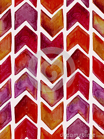 Free Vector Seamless Watercolor Geometric  Pattern Royalty Free Stock Photos - 52791918