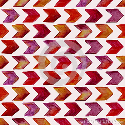 Free Vector Seamless Watercolor Geometric Pattern Stock Photos - 52792013