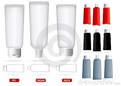 Vector set of empty tubes