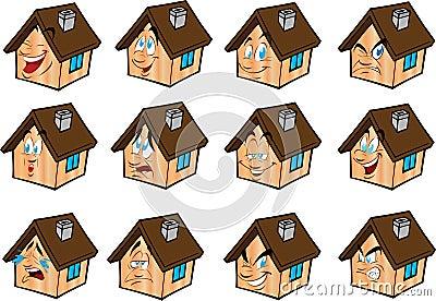 vector Set illustrations  house