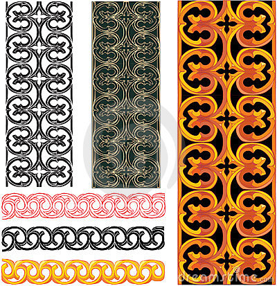 Meval Pattern Royalty Free Stock Photos - Image: 11367138