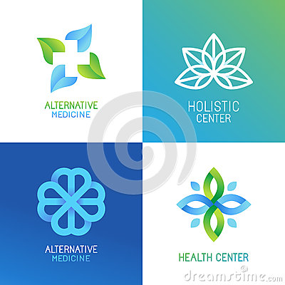 Free Vector Set Of Abstract Logos And Emblems Stock Images - 65362564