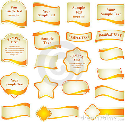 Free Vector Set Of Design Elements Royalty Free Stock Images - 7364869