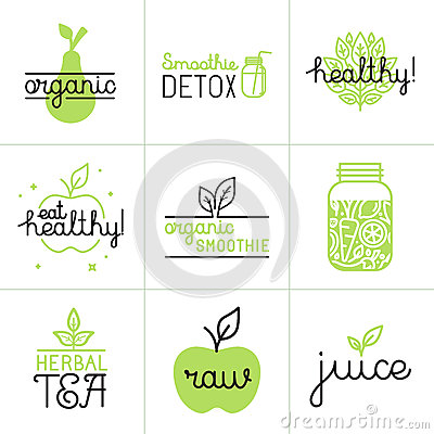 Free Vector Set Of Logo Design Elements And Badges Stock Photo - 62297470