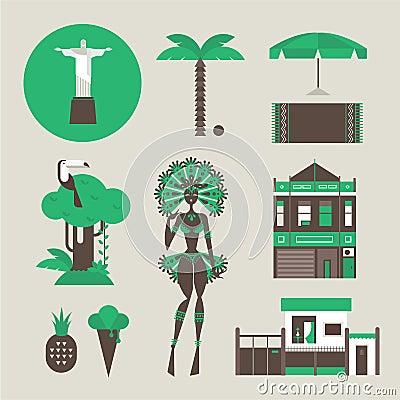 Brazillian icons
