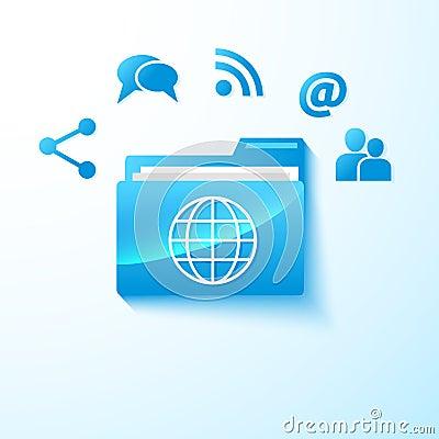 Vector share folder