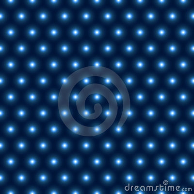 Free Vector Shiny Blue Lights Seamless Pattern Royalty Free Stock Photography - 21888077
