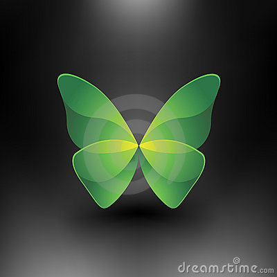 Vector Shiny Butterfly