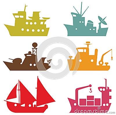 Vector ships