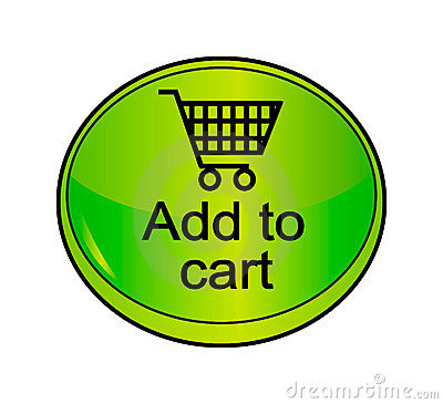 Vector shopping icon - cart