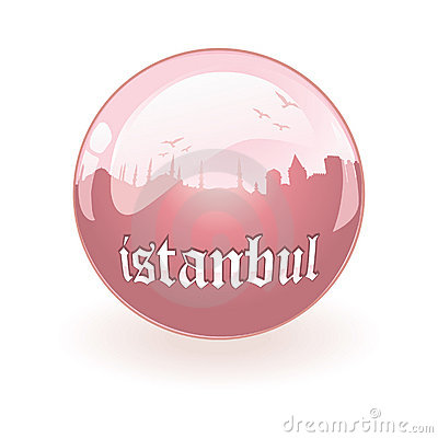 vector Silhouette of Istanbul